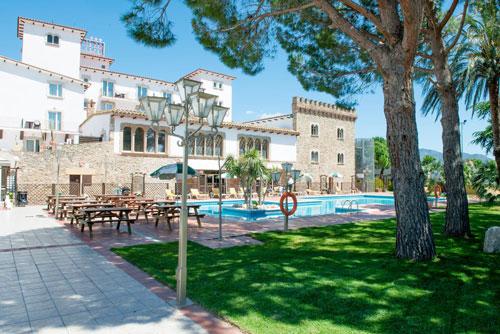 Vista Hotel Castell Blanc