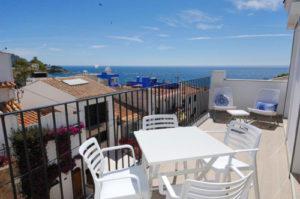 Terraza Apartamento Sant Roc Calella